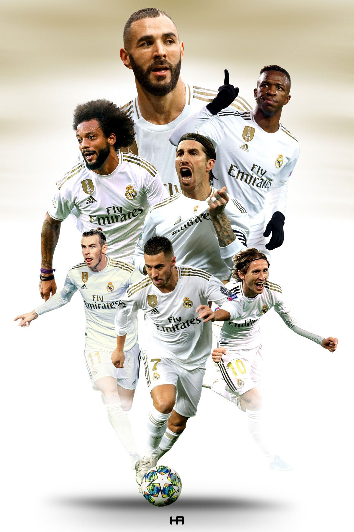 FOOTBALL EDITS 2020 on Behance in 2020 Real madrid