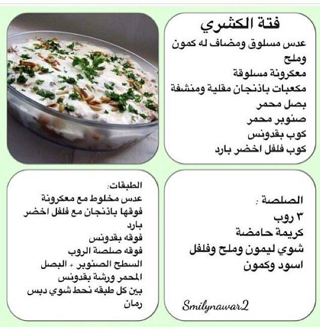 Pin By Almaadheed On أكلات Egyptian Food Cooking Recipes Recipes
