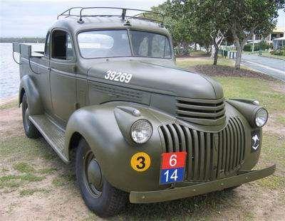 1945 Chevrolet Ute Australia Chevy Pickup Trucks Classic