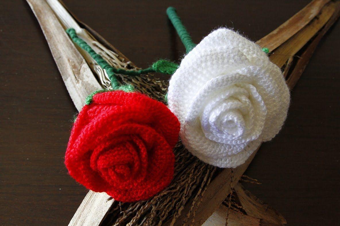 Como hacer una preciosa rosa a crochet flores ganchillo