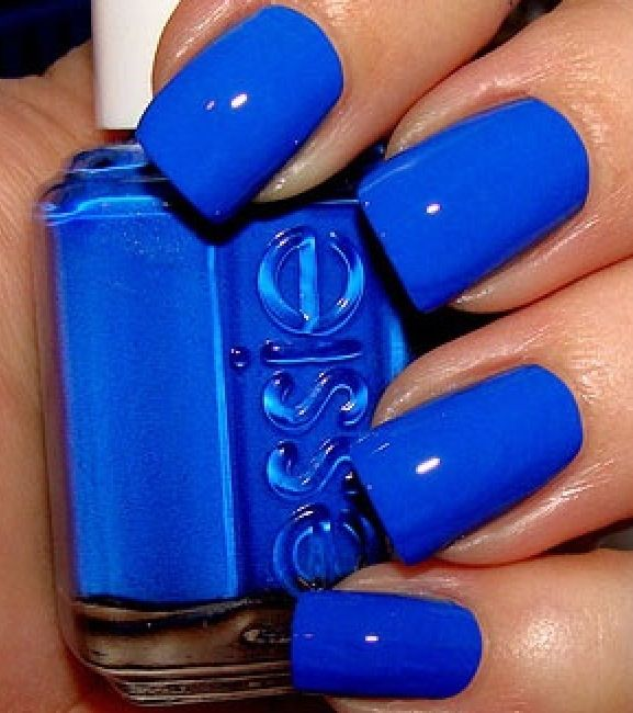 electric blue nails | Nails | Pinterest | Blue nails, Makeup and ...