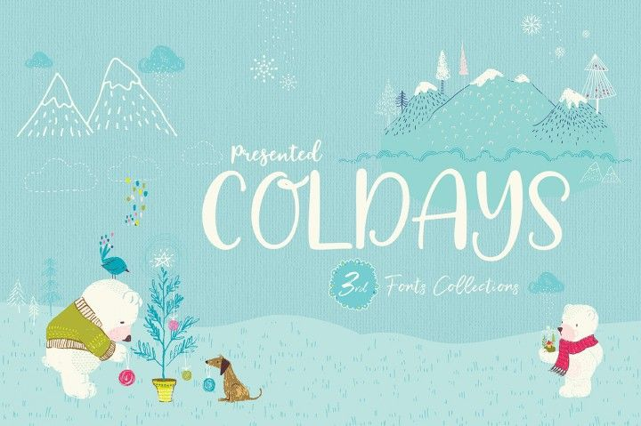 Download Coldays Memories Font Pack By Saffatin (With images ...