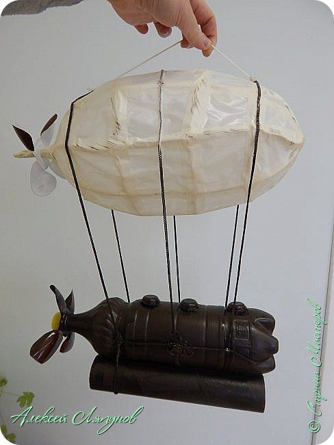 Airship made plastic bottle | Recycling ideas ´¸ ◦✿◦