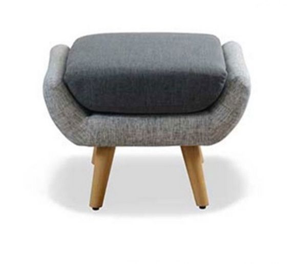 Retro Foot Stool Dressing Table Chair Vintage Seat Ottoman