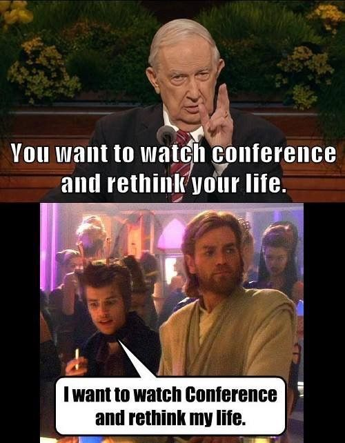 Elder Scott Jedi Funny Mormon Memes Lds Memes Funny Church Memes