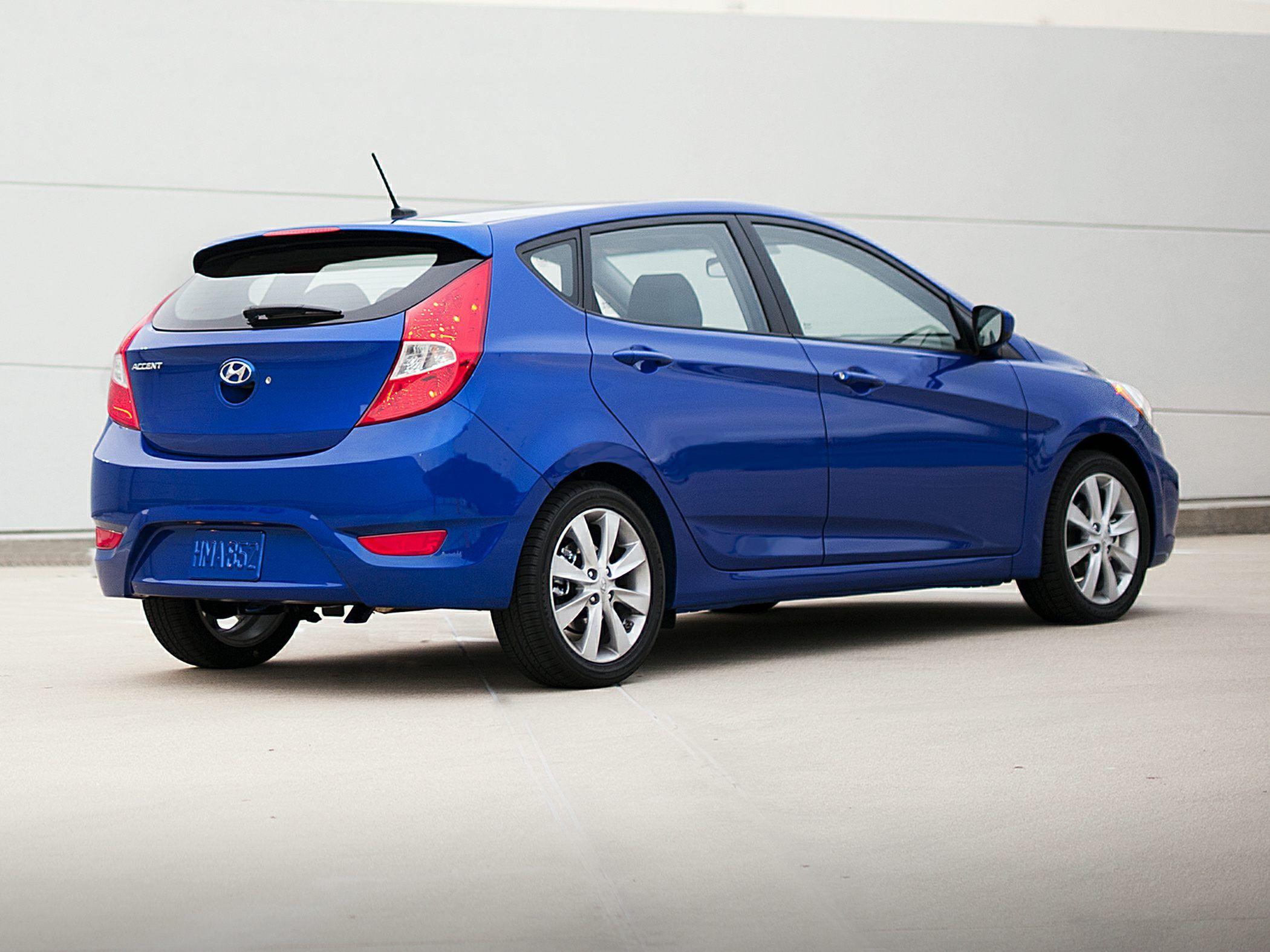 Hyundai Accent Hatchback >> Hyundai Accent 2014 Hatchback Blue Hatchback Car Pinterest
