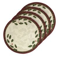 Lenox Holiday Nouveau Round Placemat 4 Pk Placemats Lenox Holiday