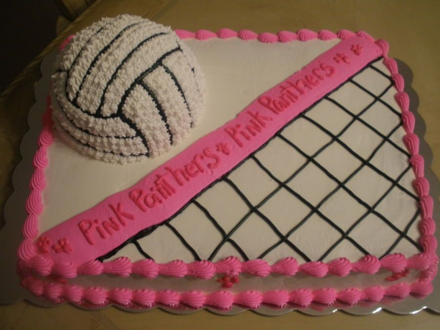 Phenomenal Volleyball Cake With Images Volleyball Cakes Volleyball Personalised Birthday Cards Beptaeletsinfo