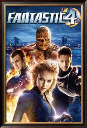 Fantastic Four Framed Poster at AllPosters.com