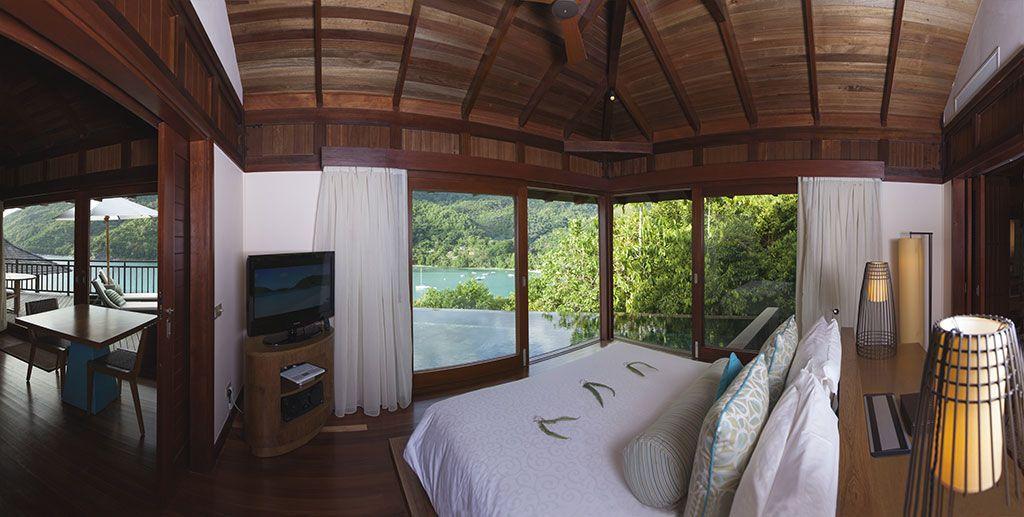 Hotel Constance Ephelia Resort Seychelles Situees Sur La Plage Nord De Port Launay Ces Villas A Deux Chamb Spacieux Deux Chambres Piscine Privee
