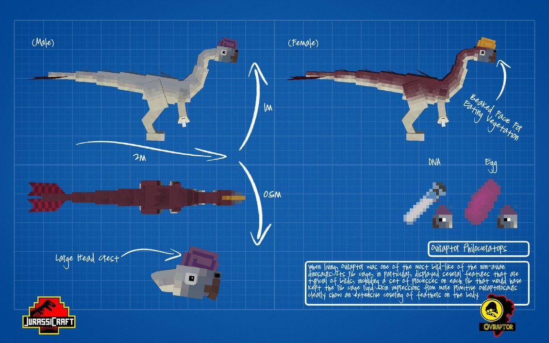 Jurassic craft oviraptor jurassicraft dinosaurs pinterest jurassic craft oviraptor malvernweather Image collections