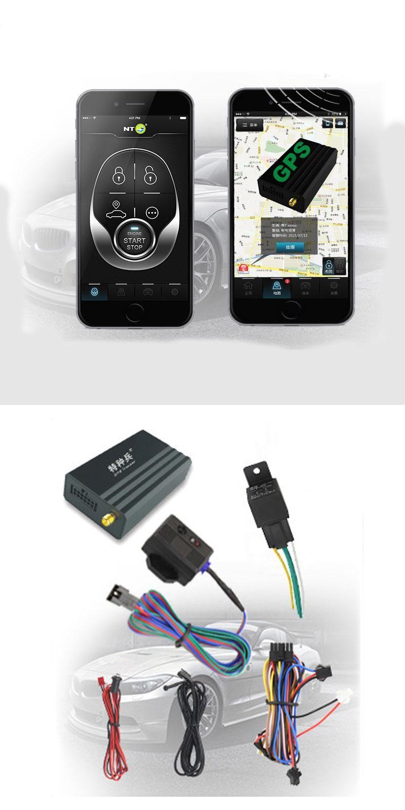 ENKLOV Mobile Phone APP GPS Tracker Car GSM / GPS Locator