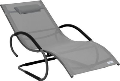 Sale Luxus XXL Aluminium Schwingliege Swingliege Gartenliege Sonnenliege  Grau Jetzt Bestellen Unter: ...