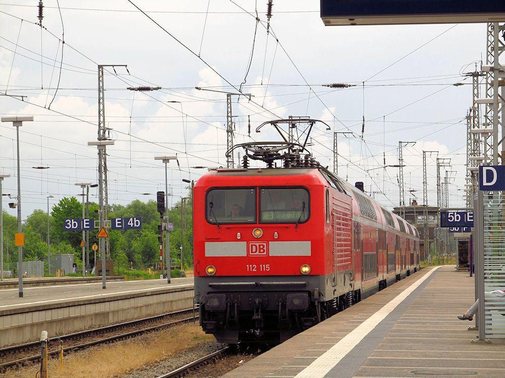 https://flic.kr/p/Jf7bzM | Class 112 115, DB Regio | Stralsund Hauptbahnhof. 15.06.2016 r.