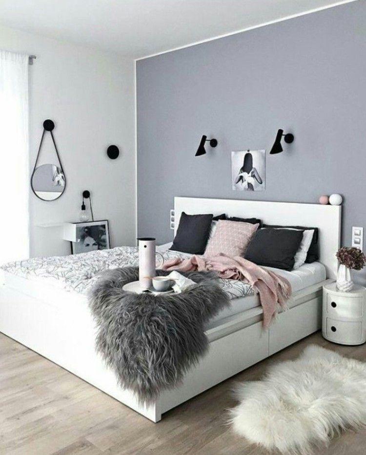chambre ado fille moderne en style scandinave | Chambre ...