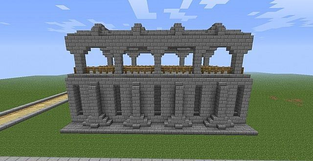 Wall Designs Pt 2 Minecraft Project Minecraft Castle Minecraft