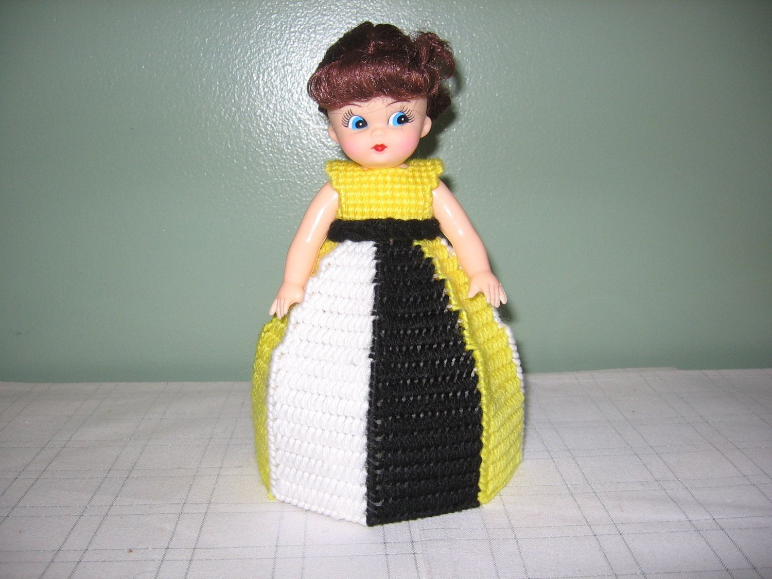 Black/White/Yellow Collectible Doll - use for decoration or Air Freshner!! by CreationsbyAMJ on Etsy #airfreshnerdolls Black/White/Yellow Collectible Doll - use for decoration or Air Freshner!! by CreationsbyAMJ on Etsy #airfreshnerdolls