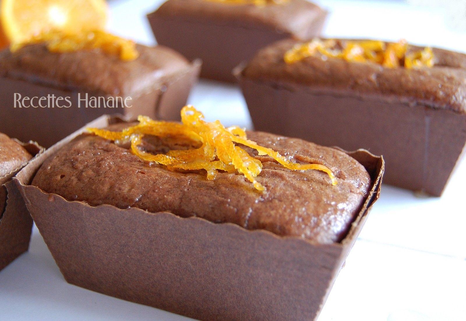 Mini Cake Chocolat Orange Et Rencontre Gourmande Recettes By Hanane Mini Cake Chocolat Cake Chocolat Recette By Hanane