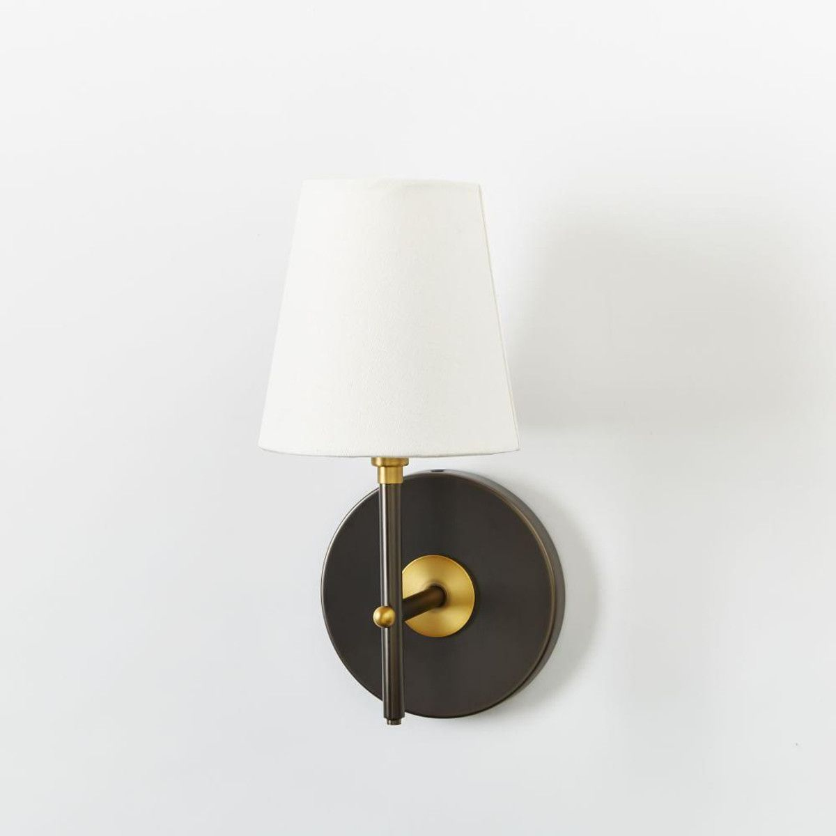 Arc Mid Century Sconce   Single (Antique Bronze) | West Elm AU