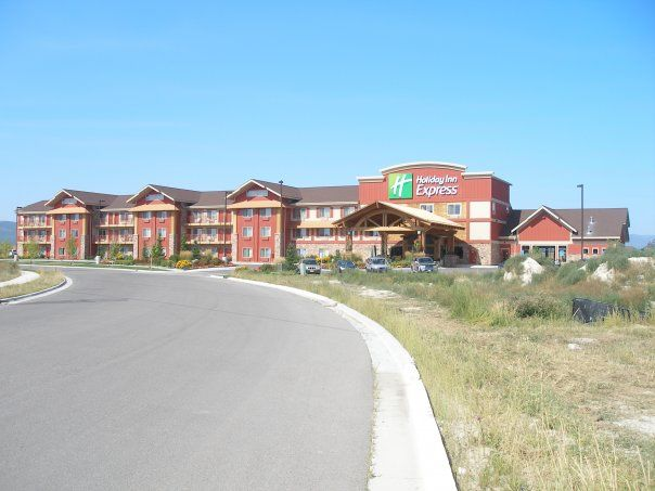 Holiday Inn Express Kalispell Mt Lindquist Architects