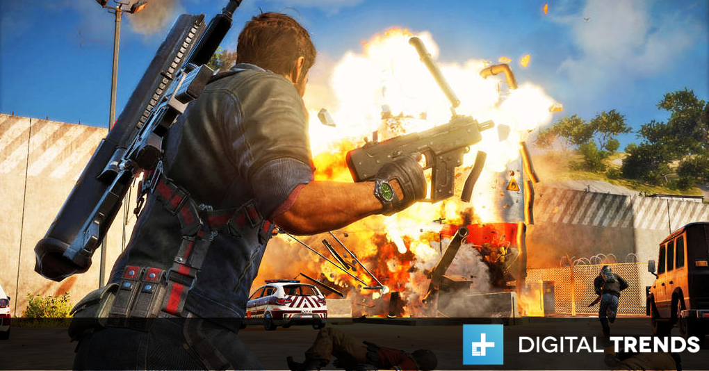 Just Cause 3 Headlines August S Playstation Plus Games Digital Trends Just Cause 3 Video Game Reviews Just Cause 2