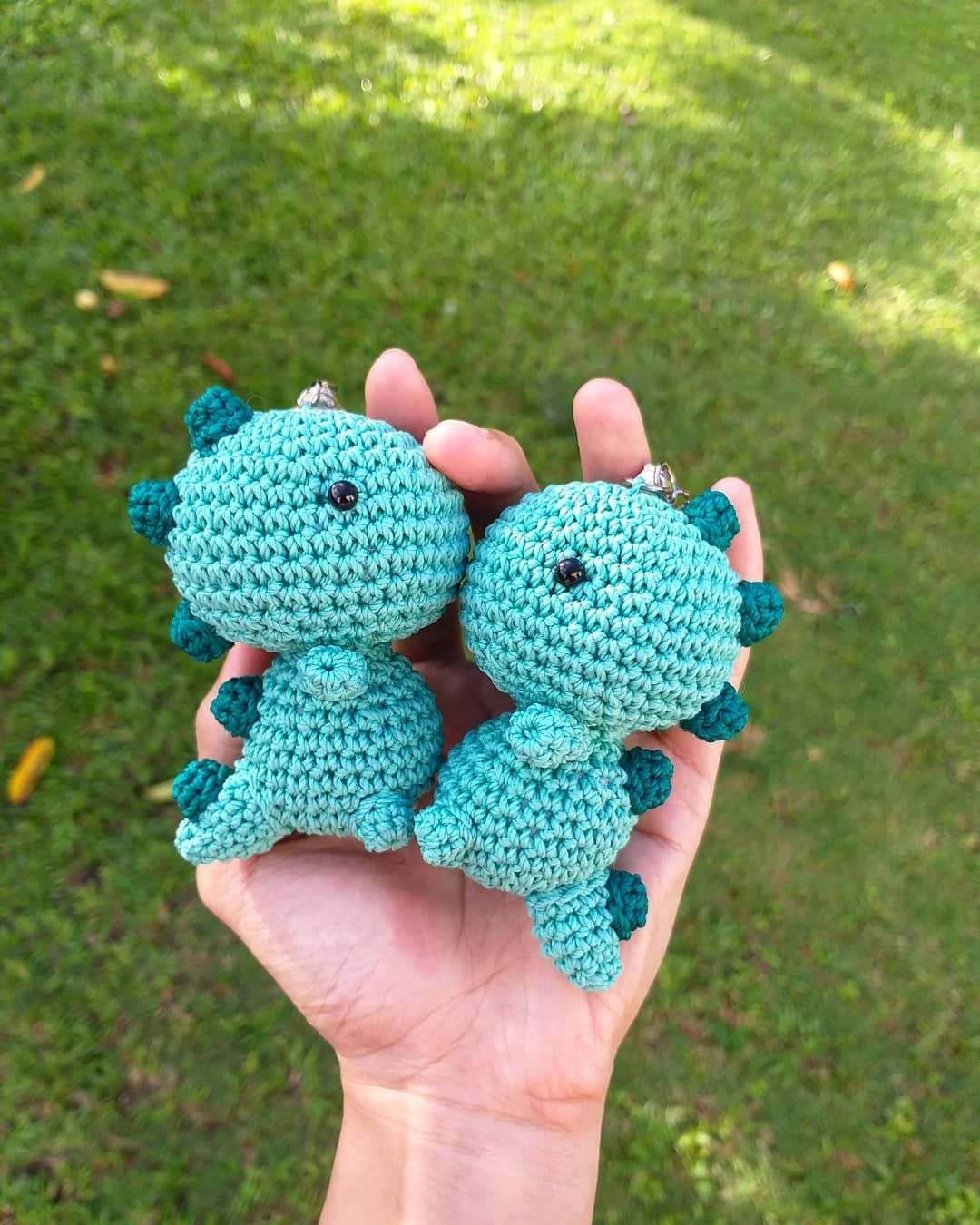 Photo of …… knit  crochet  amigurumi  handmade  dinosaur  bonekarajut  crocheting  ya…