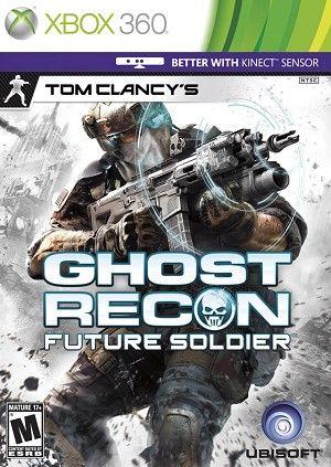 Ghost Recon Future Soldier Xbox 360 Game Soldado Do Futuro Tom Clancy Xbox 360 Jogos