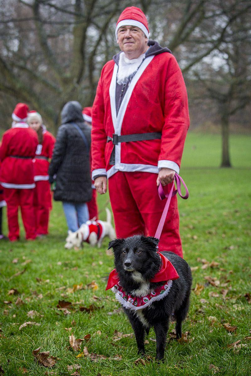 The soggiest!!! of Santa Jogs (5km fundraising event) around Mary Stevens Park, Stourbridge in support of The Mary Stevens Hospice #christmas #santajog #stourbridge #charity #vets www.manorvets.co.uk