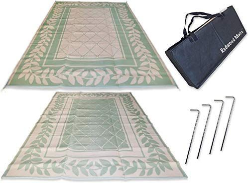 Buy Redwood Mats Patio Mat 9' X 12' Leaf Green Rv Mat Reversible Outdoor Rug Camping Indoor (with Ground Stakes & Carry Bag) online - Topusashoppingsites  New Redwood Mats Patio Mat 9′ X 12′ Leaf Green Rv Mat Reversible Outdoor Rug Camping Indoor (wi #Bag #buy #camping #Carry #green #Ground #Indoor #Leaf #mat #Mats #Online #Outdoor #Patio #Redwood #Reversible #Rug #Stakes #Topusashoppingsites