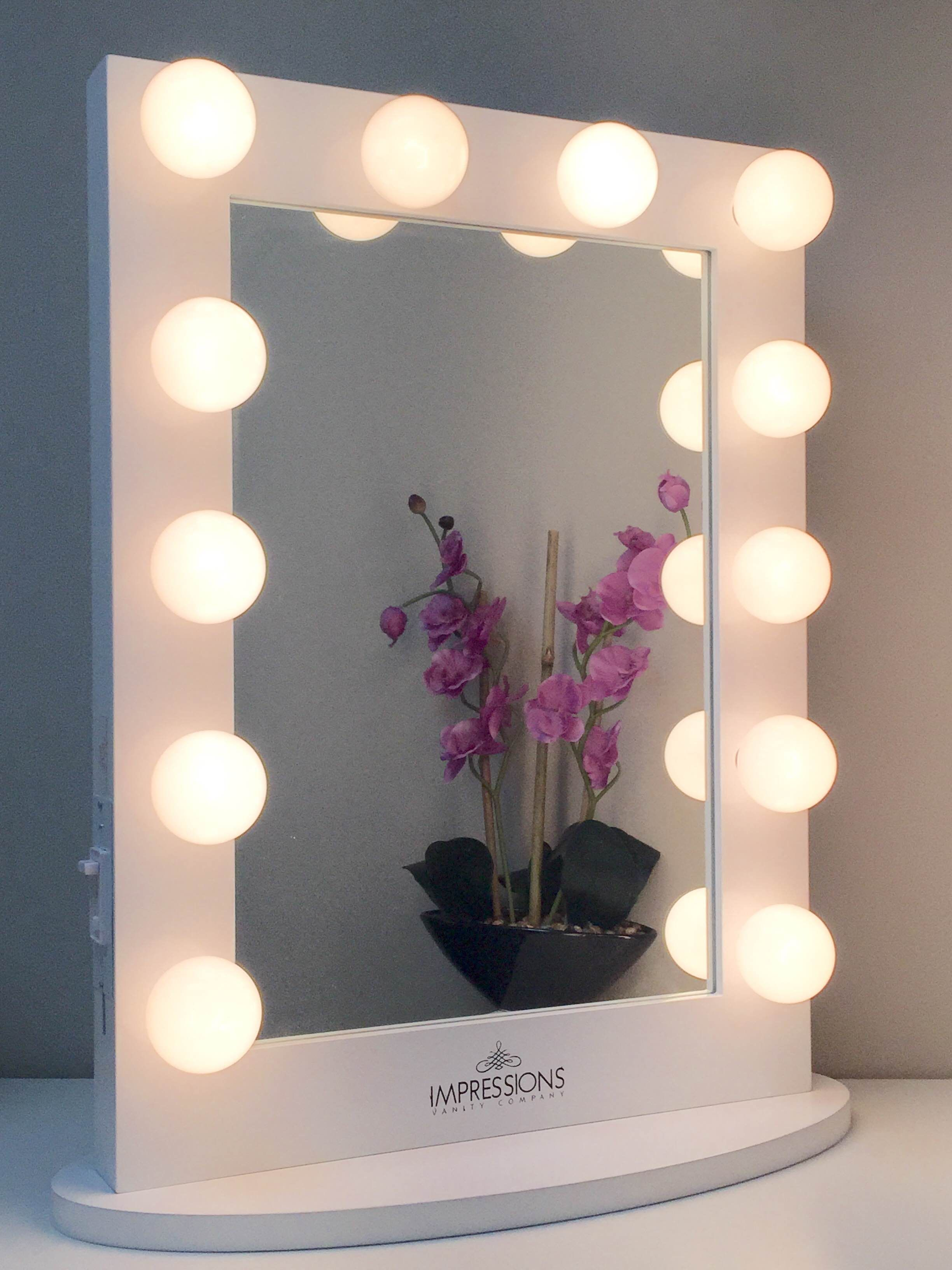 Hollywood Chic XL Vanity Mirror Vanities Hollywood And Chic - Making a vanity mirror