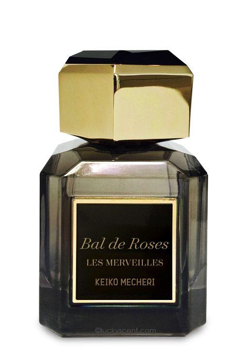 Bal de Roses Eau de Parfum by Keiko Mecheri Les Merveilles, at Luckyscent. Hard-to-find fragrances, niche brand perfumes,  and other under-the-radar luxuries.
