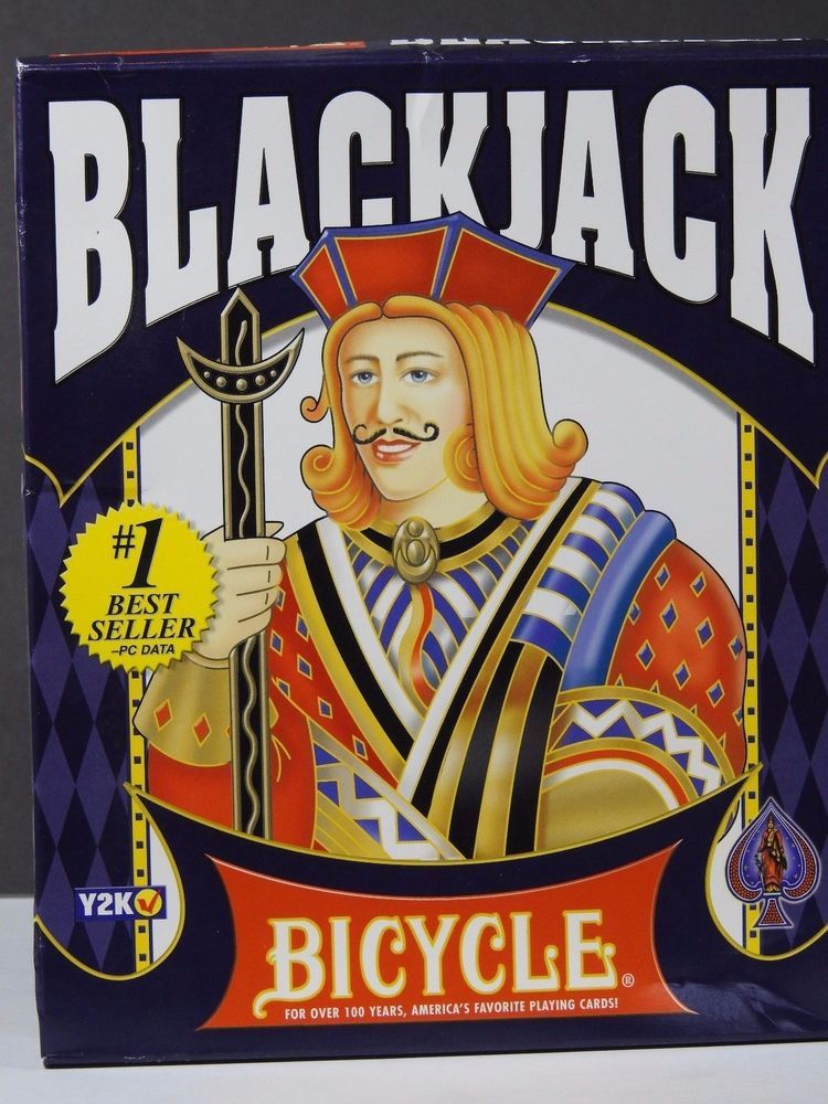 New Bicycle Blackjack (PC, 1999) Windows 95/98 Casino