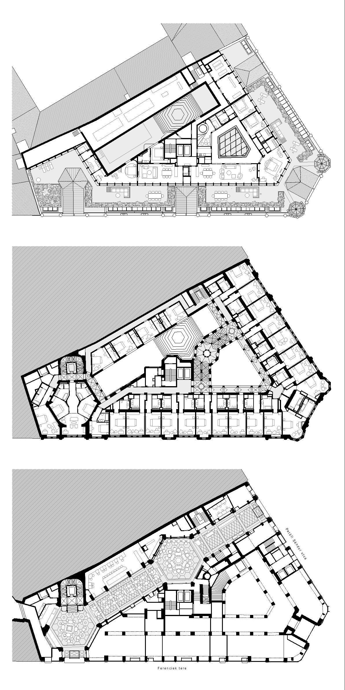 Paris Court Archikon Archello Hotel Floor Plan Hotel Plan Hotel Floor