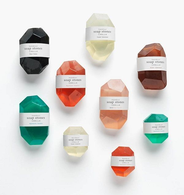 This week's gems - beautiful product packaging design #soappackaging