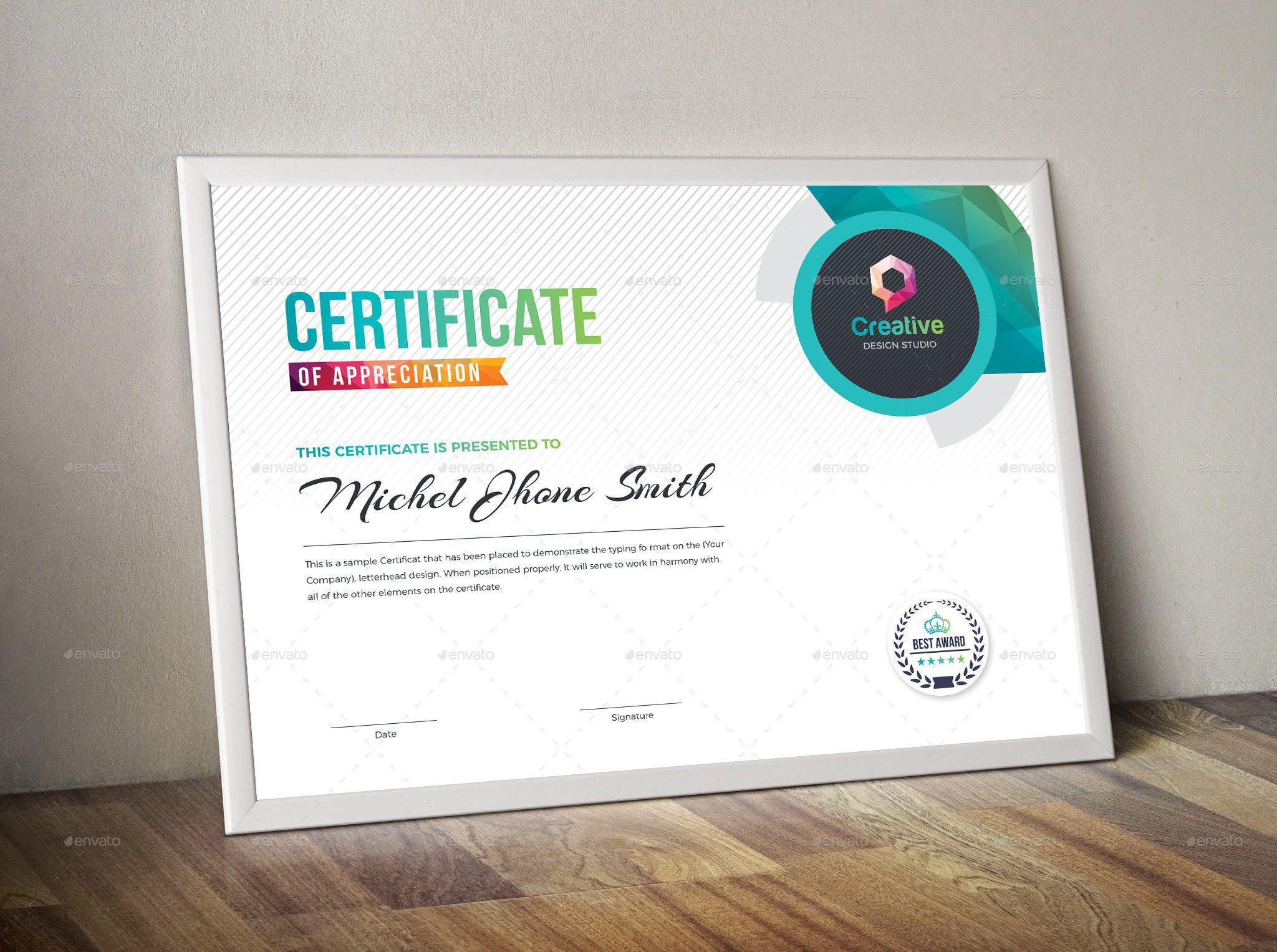 Certificate Ad Certificate Certificate Templates