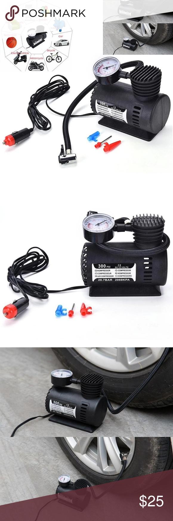 Portable Mini Air Compressor Compressor, Pumping car