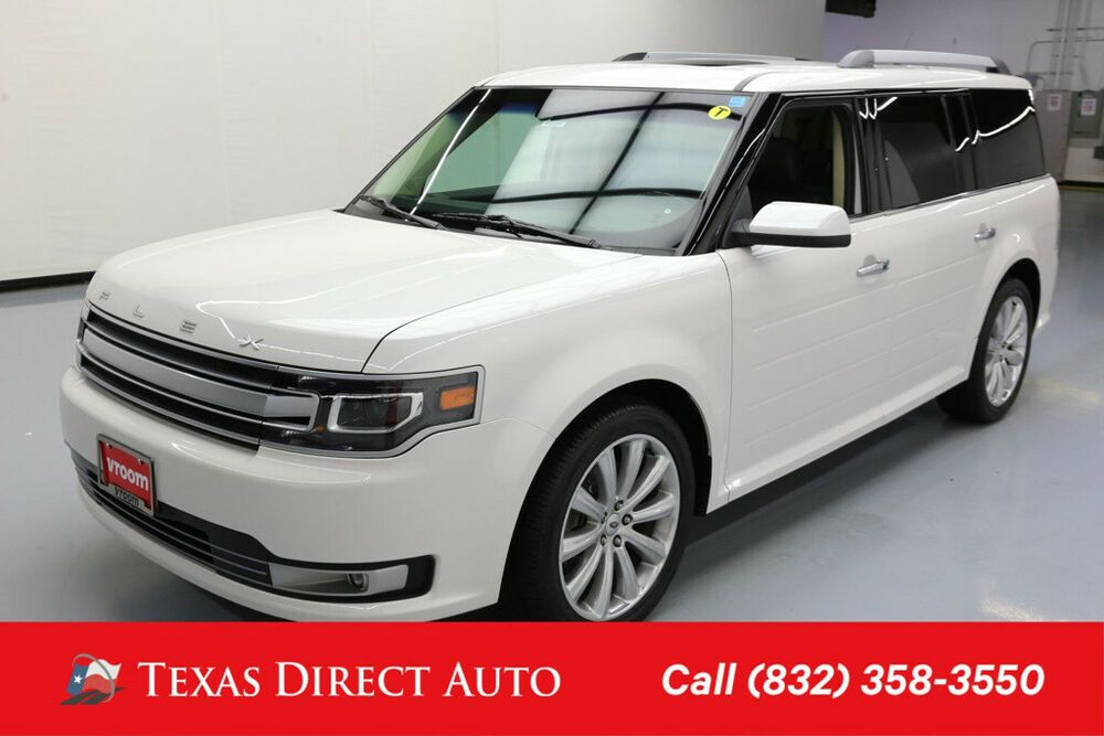 2016 Ford Flex Limited Texas Direct Auto 2016 Limited Used 3 5l V6