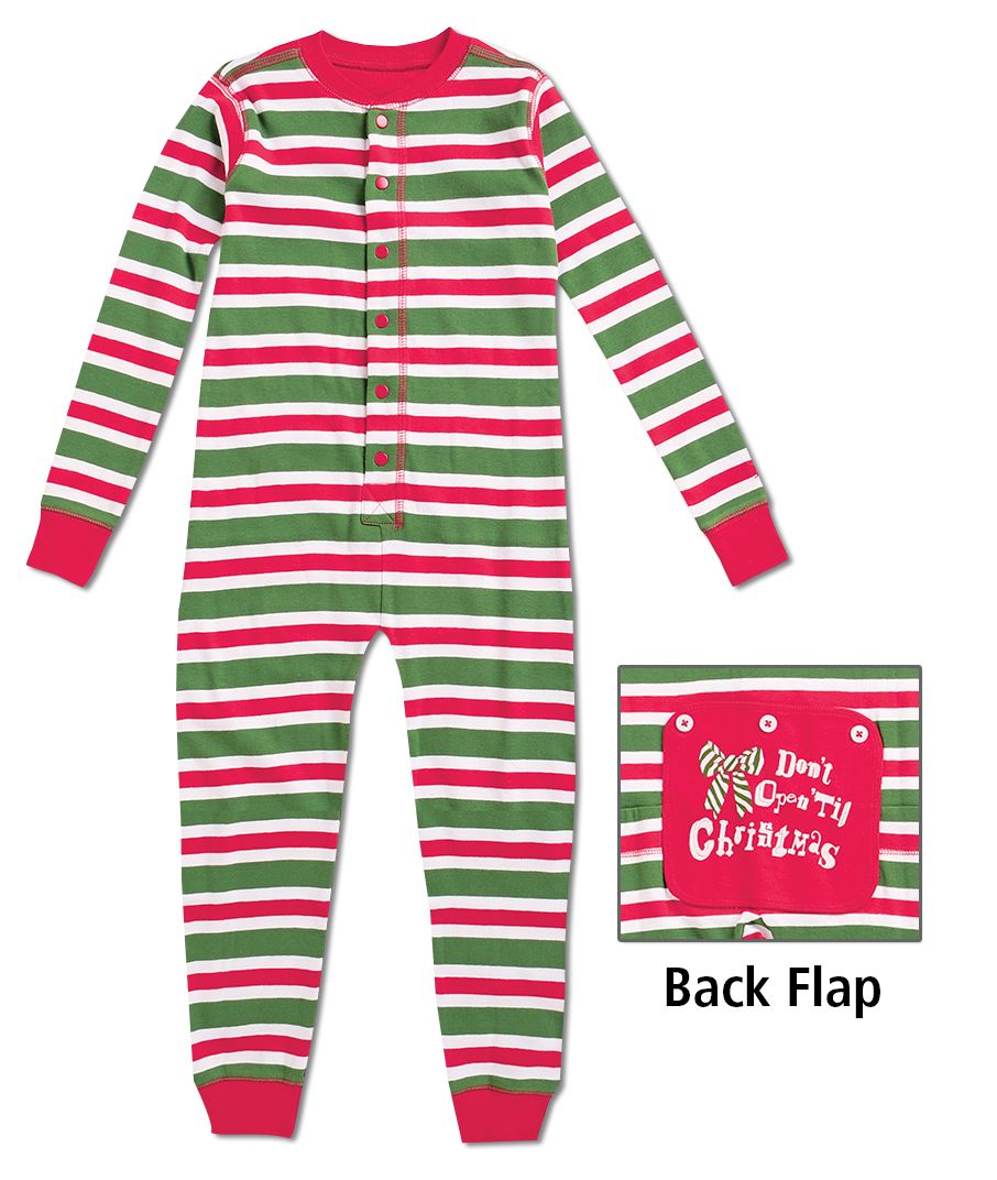 6e43cdcd29fb From CWDkids  Family Stripe Union Suits