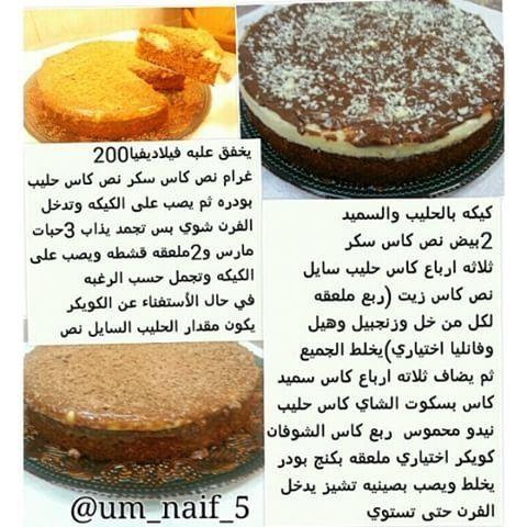 كيكة الحليب المحمص بالسميد Digestive Biscuits Biscuit Cake Semolina Cake