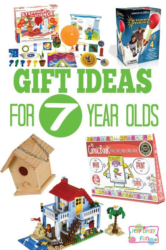 christmas ideas for a 7 year old