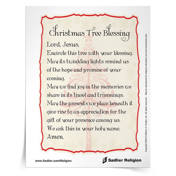 Image result for christmas blessing prayer catholic | prayers ...