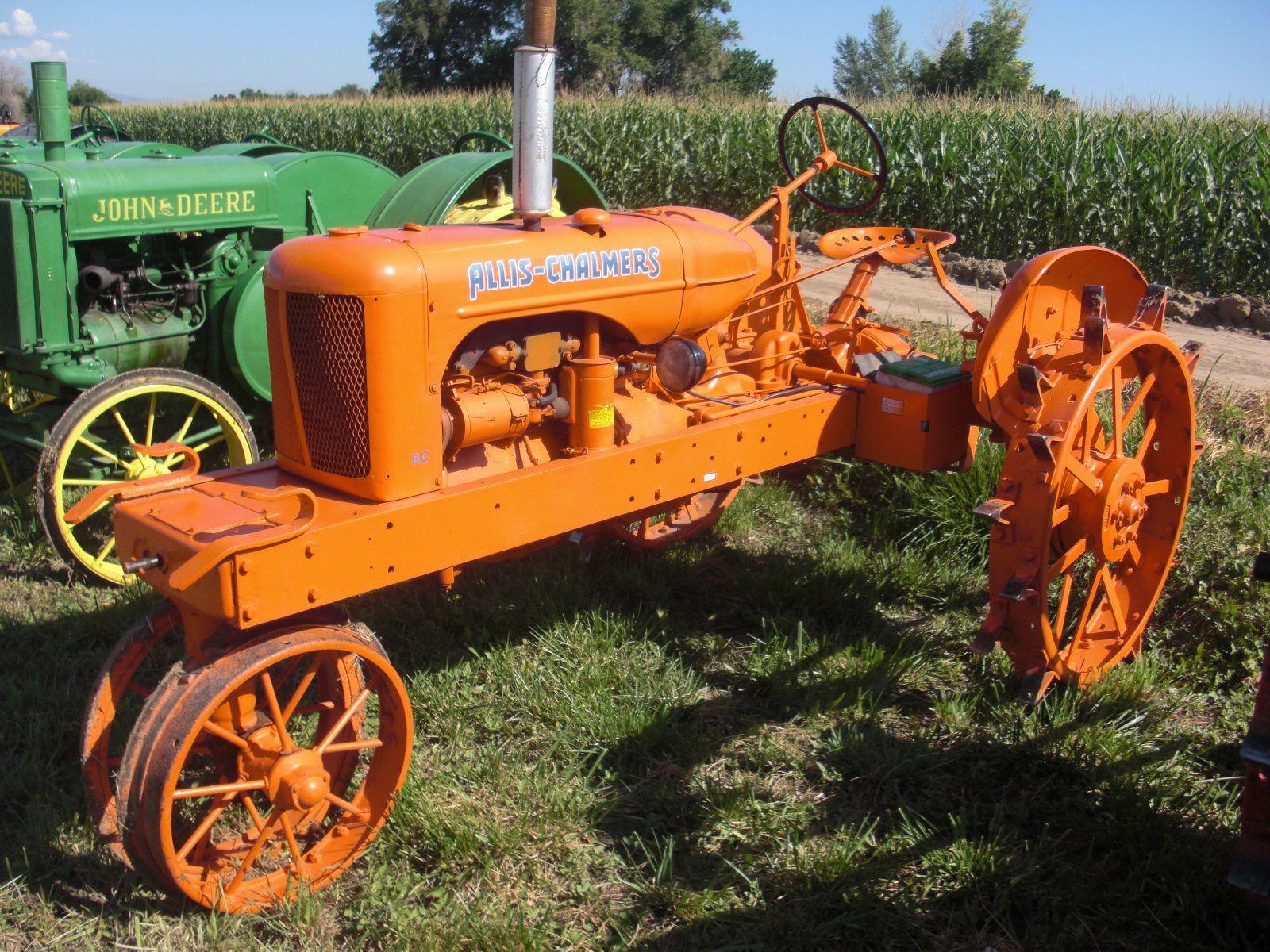 allis chalmers tractors   1939 Allis-Chalmers Tractor ...