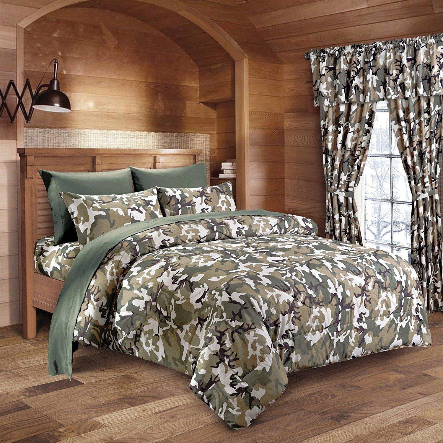 Marvelous Army Camo Comforter, Sheet, U0026 Pillowcase Bed In A Bag Set