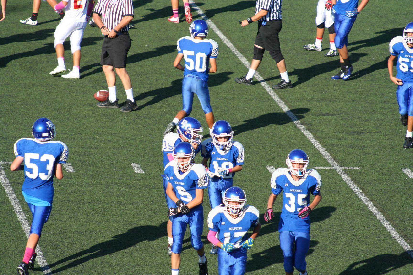 Dana Hills High School Football Highschool Freshman High School Football Mission Viejo
