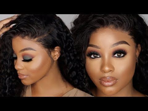 EASY GREEN SMOKEY EYE MAKEUP TUTORIAL | CHRISTMAS AND NEW YEAR MAKEUP LOOK AND HAIR | Ft KLAIYI HAIR - YouTube partymakeuptutorial #smokeyeyemakeuptutorial #newyear'smakeup #asiansmokeyeye #greensmokeyeye #greeneyes #highlightermakeup #bestmakeuptutorials #bestmakeupproducts