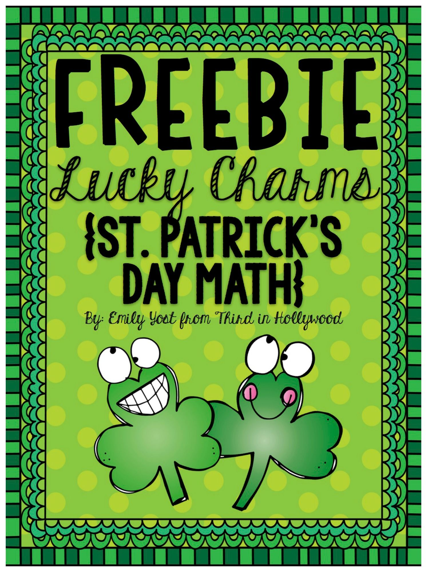 Free Lucky Charms Math