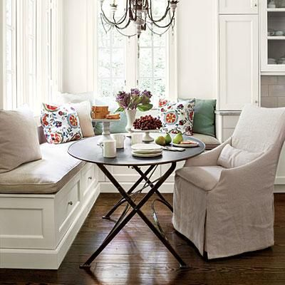 Gather Round The Dining Room Table Dining Nook Kitchen Banquette Home Decor