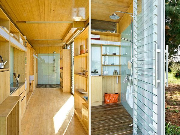 Good Compact And Sustainable Port A Bach Shipping Container Holiday Home