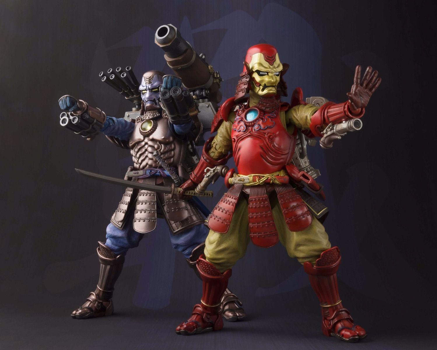 """7/"""" Tamashii Realization KouTetsu Samurai Iron Man Mark 3 MK3 PVC Action Figure"""