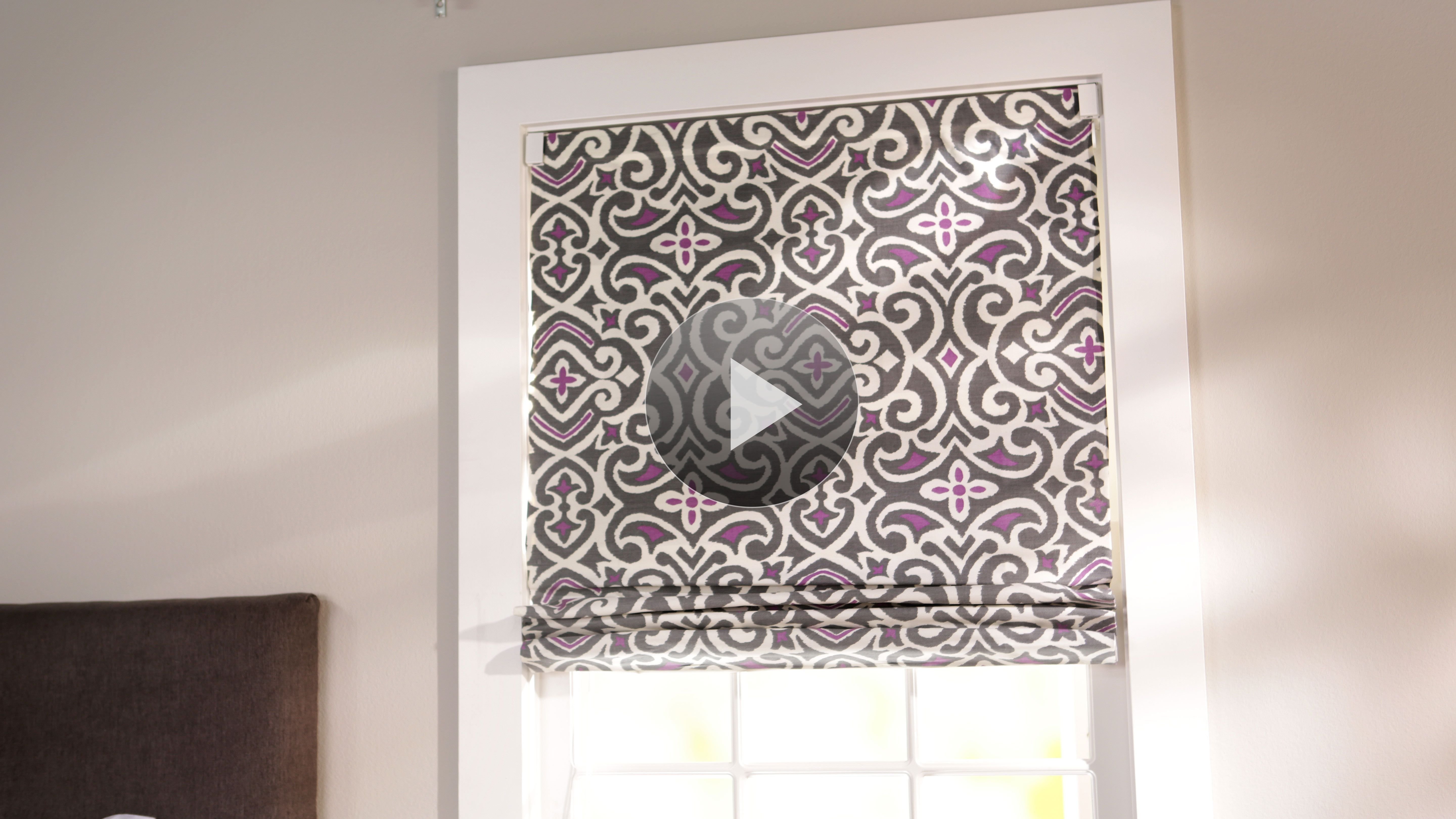 How To Make Roman Shades Diy Roman Shades Roman Shades